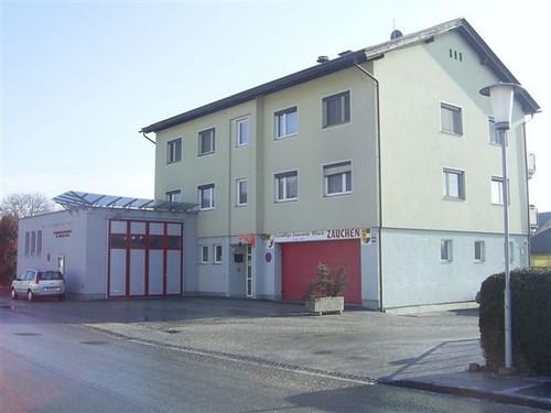 Gerätehaus der Feuerwehr Zauchen