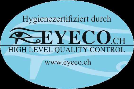 EYECO-Hygienezertifikat