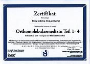 Orthomolekularmedizin Teil 1-4