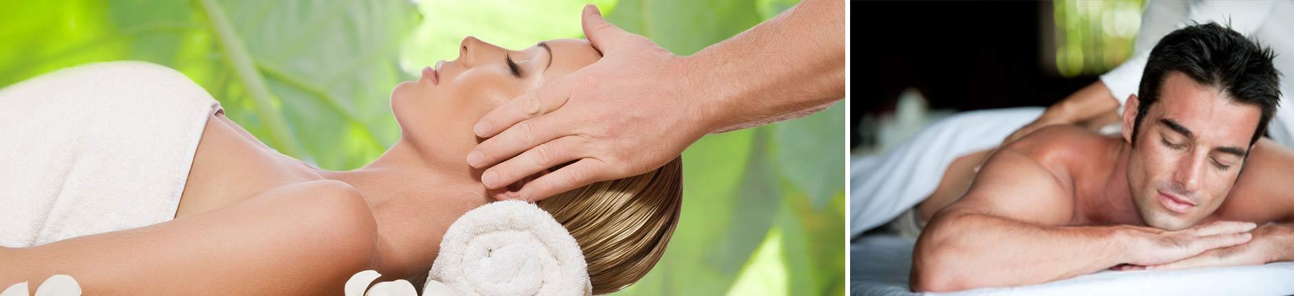Wellnessmassagen und Körperbehandlungen