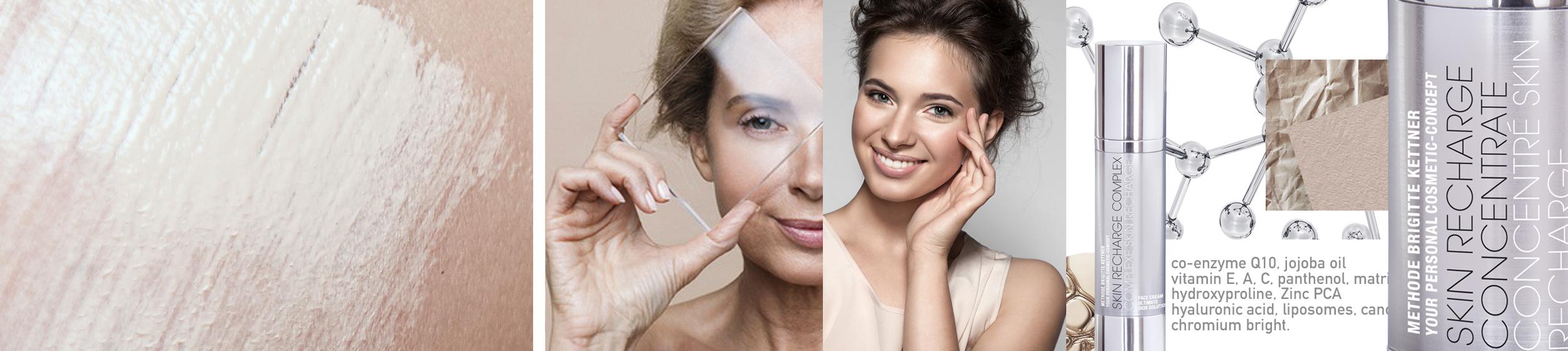 Anti-âge: vieillissement cutané, peau mature