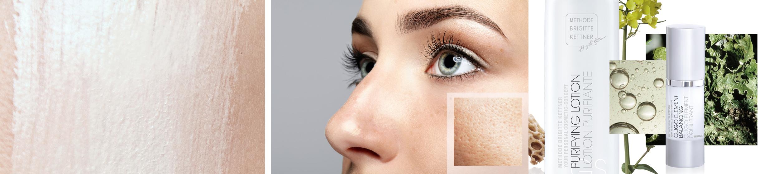 Type de peau peau grasse
